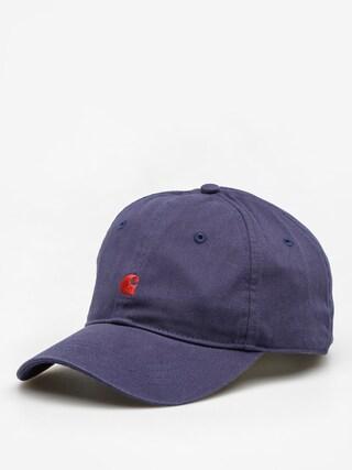 Czapka z daszkiem Carhartt Madison Logo ZD (blue/blast red)