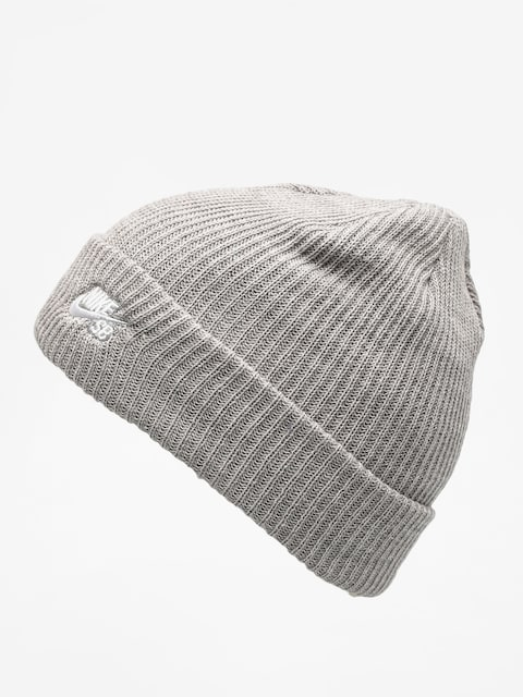 Czapka zimowa Nike SB Sb Fisherman Beanie (dk grey heather/white)
