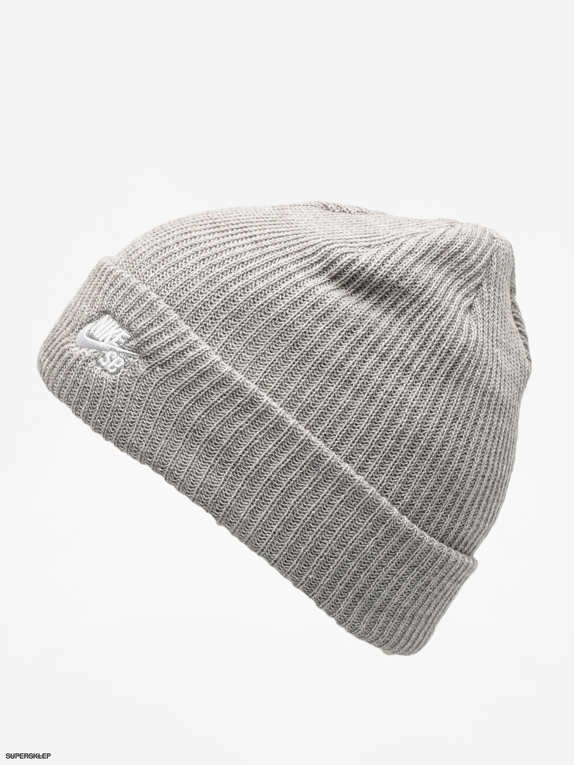 half off 2ae2f e0899 Czapka zimowa Nike SB Sb Fisherman Beanie (dk grey heather white)