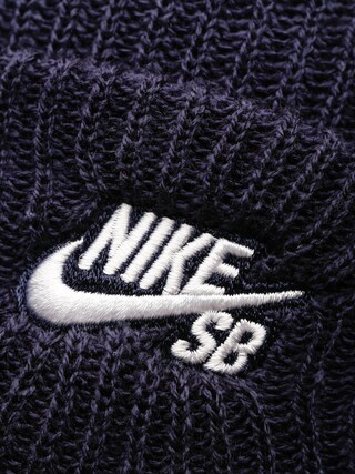 Czapka zimowa Nike SB Sb Fisherman Beanie (obsidian/white)