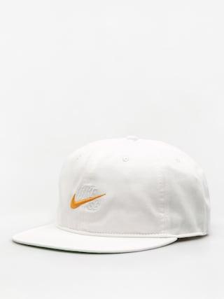 Czapka z daszkiem Nike SB Nk Cap Sb Vintage ZD (white/pine green/black/circuit orange)