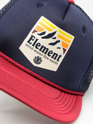 Czapka z daszkiem Element Symbol Trucker ZD (oxblood red)