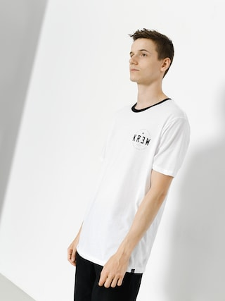T-shirt Kr3w Lock Seal (white/black)