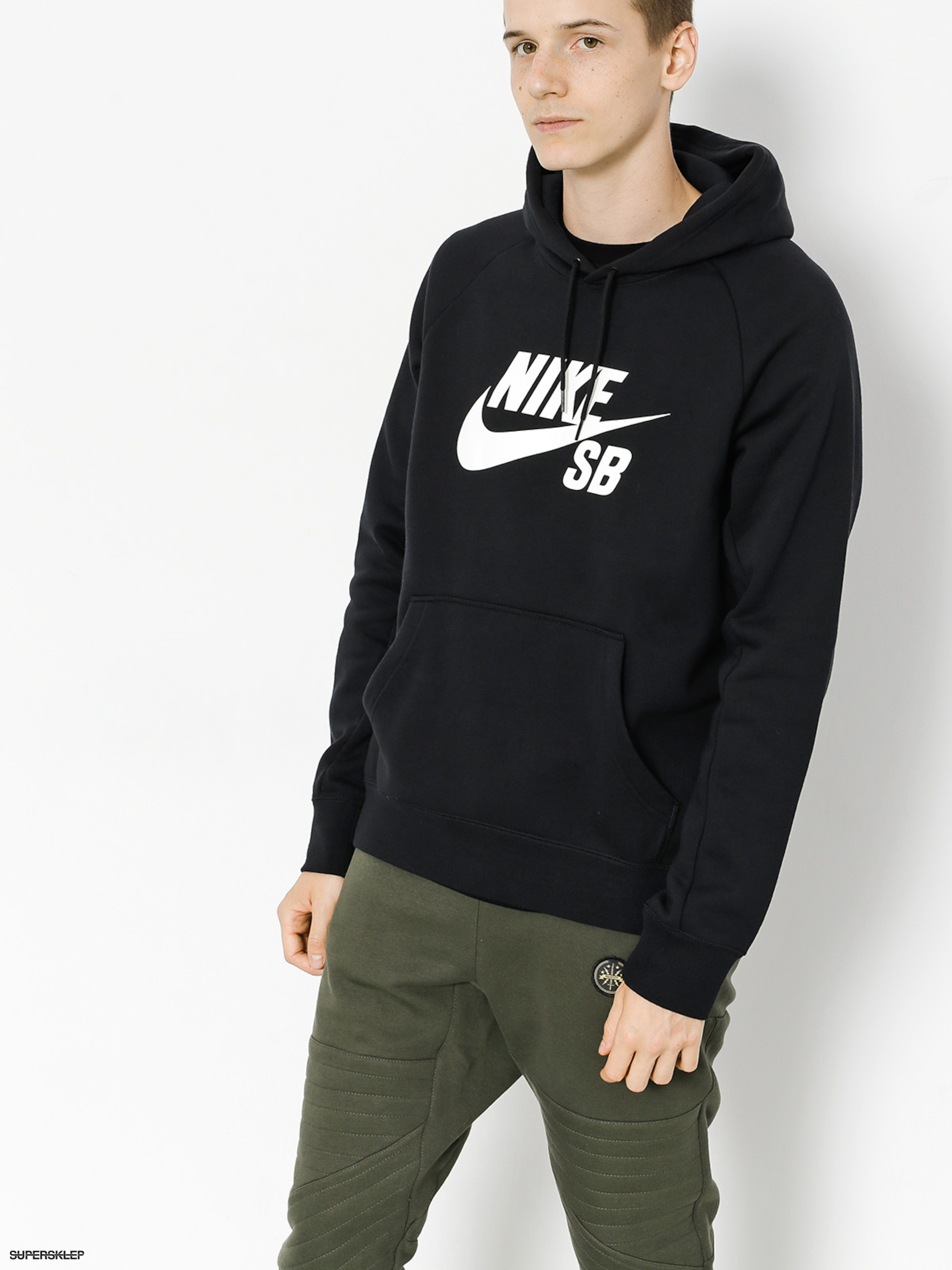 Bluza z kapturem Nike SB Sb Icon HD (black)