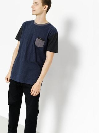 T-shirt Quiksilver Baysic Pocket (navy blazer)