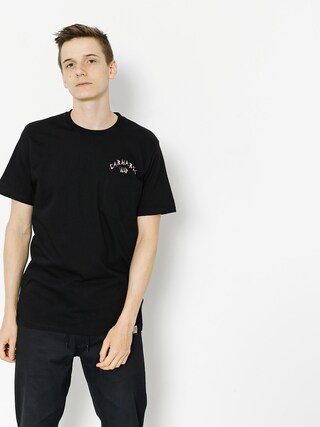 T-shirt Carhartt Sky Rats Pocket (black/soft rose)