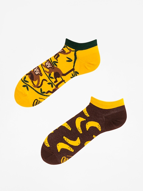 Skarpetki Many Mornings Monkey Business Low (yellow/green/brown)