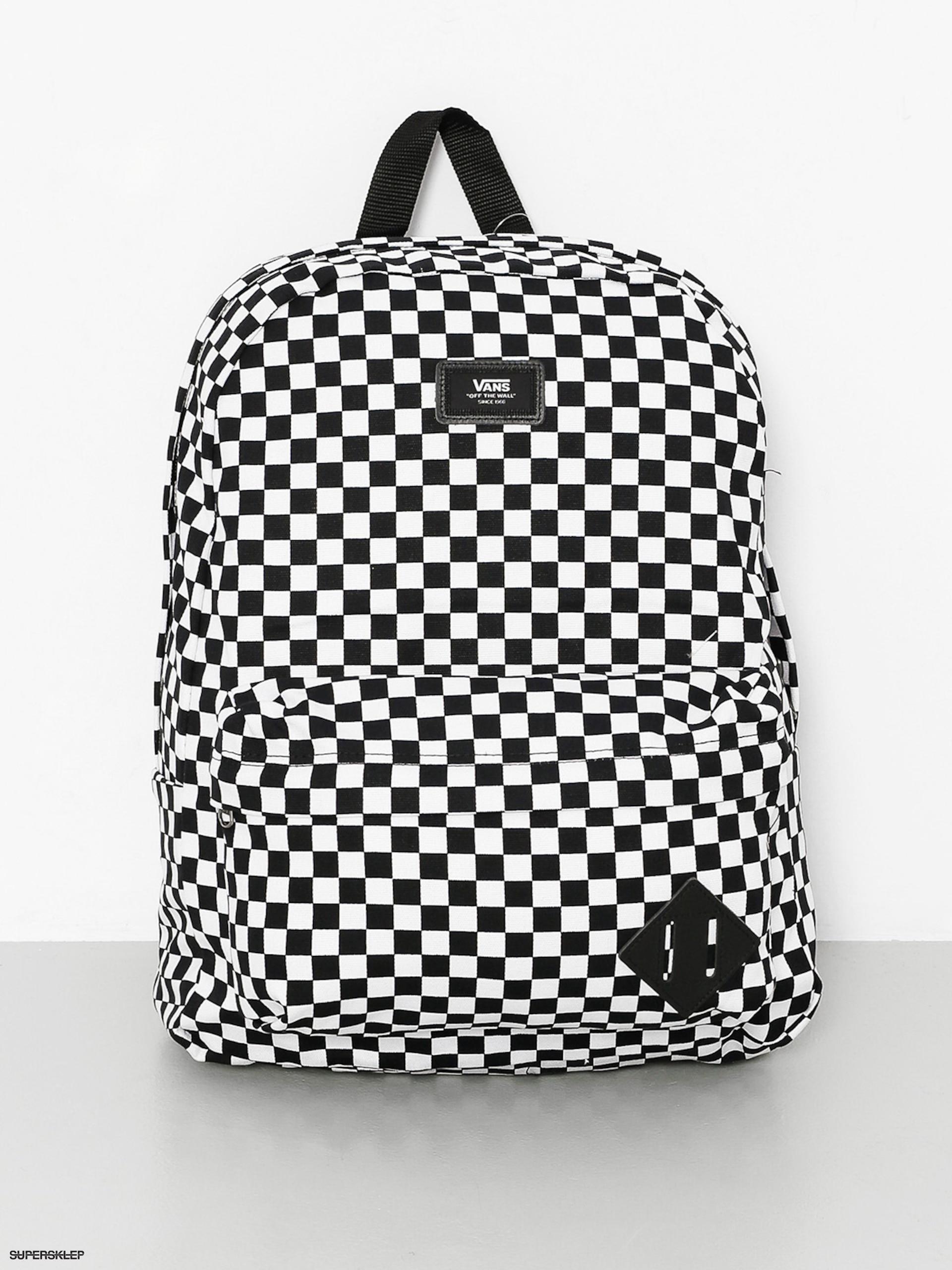 1b0b015507762 Plecak Vans Old Skool II (black/white)