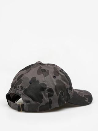 Czapka z daszkiem Mitchell & Ness Camo Slouch ZD (black camo)