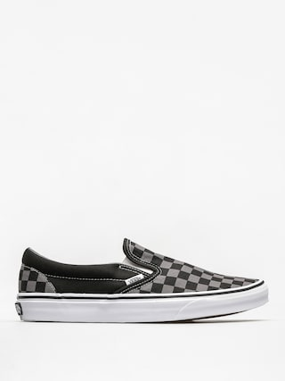 Buty Vans Classic Slip On (black/pewter checkerboard)