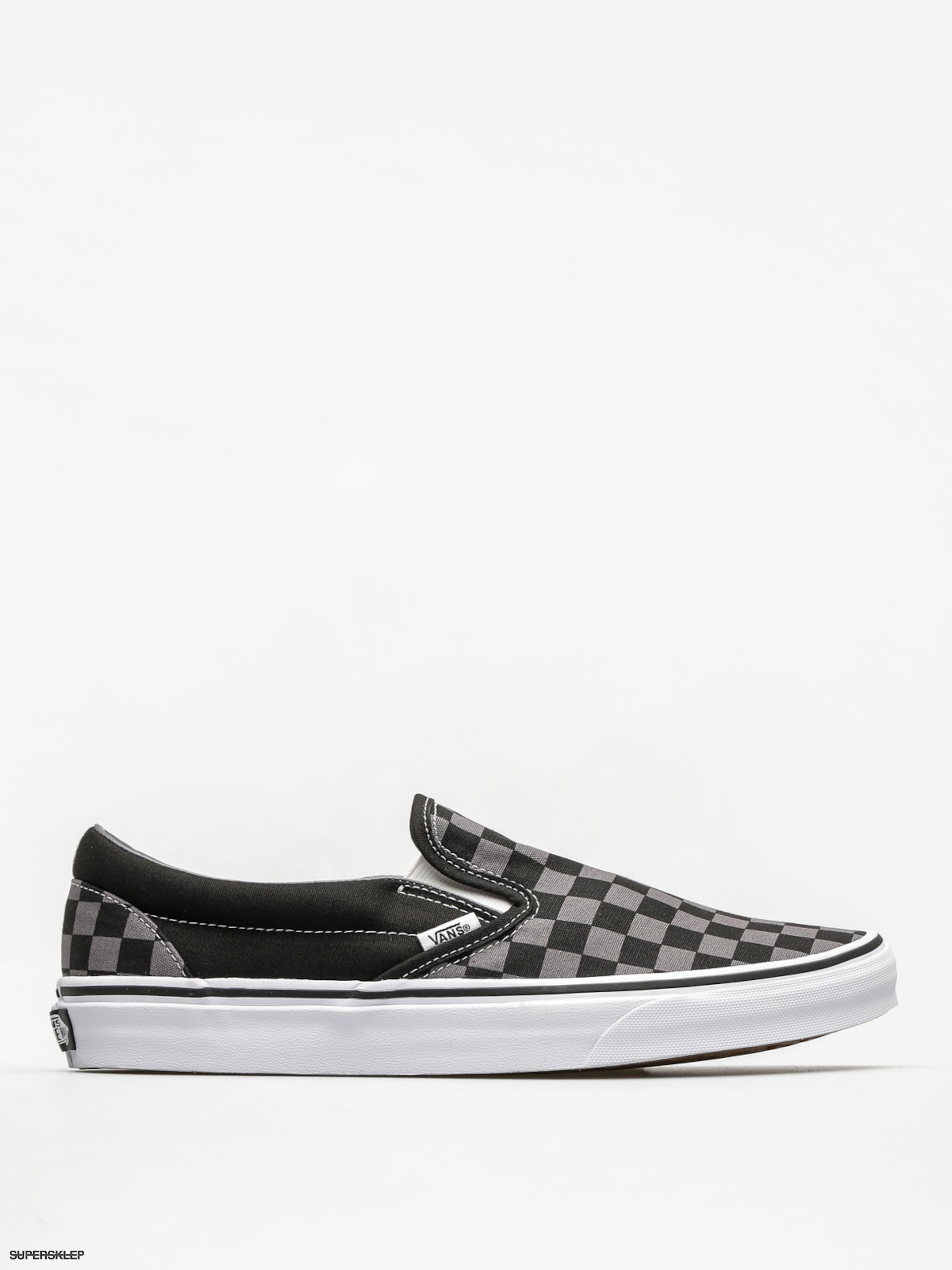 Buty Vans Classic Slip On (blackpewter checkerboard)