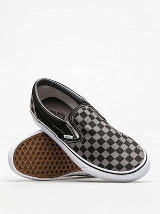 Buty Vans Classic Slip On (black/pewter checkerboard)