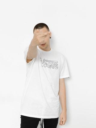 T-shirt Vans Classic Logo (white/white)