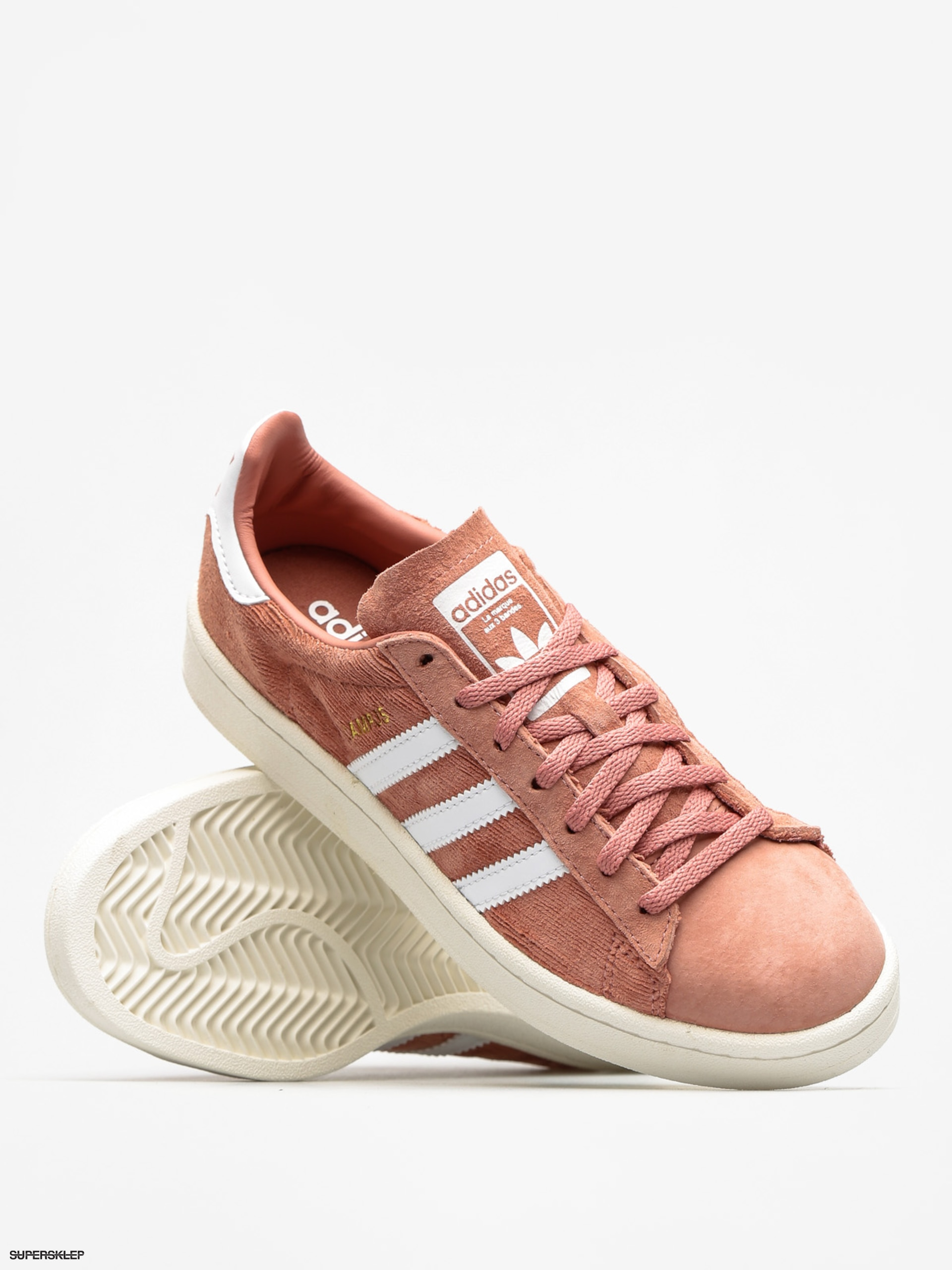 buty adidas campus kobiety raw pink
