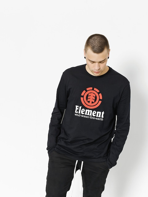Longsleeve Element Vertical (flint black)