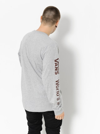 Longsleeve Vans Worlds #1 (athletic/heather)