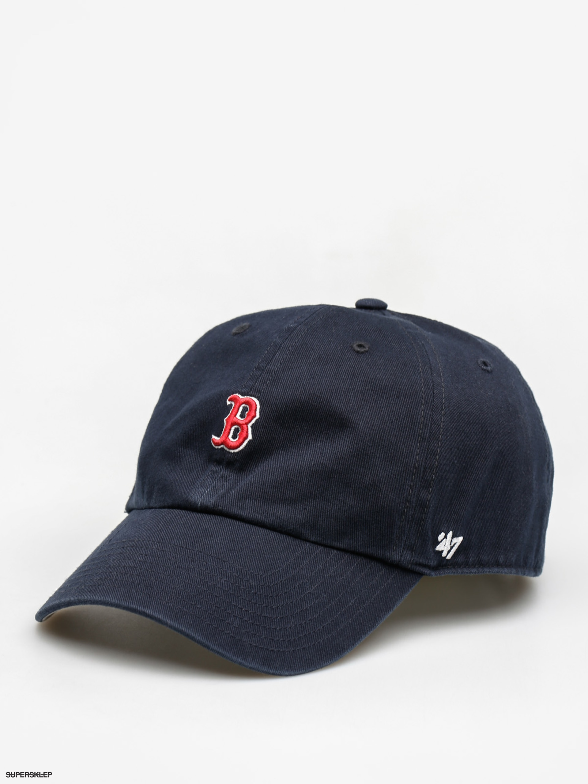 Czapka z daszkiem 47 Brand Boston Red Sox Abate ZD (navy)