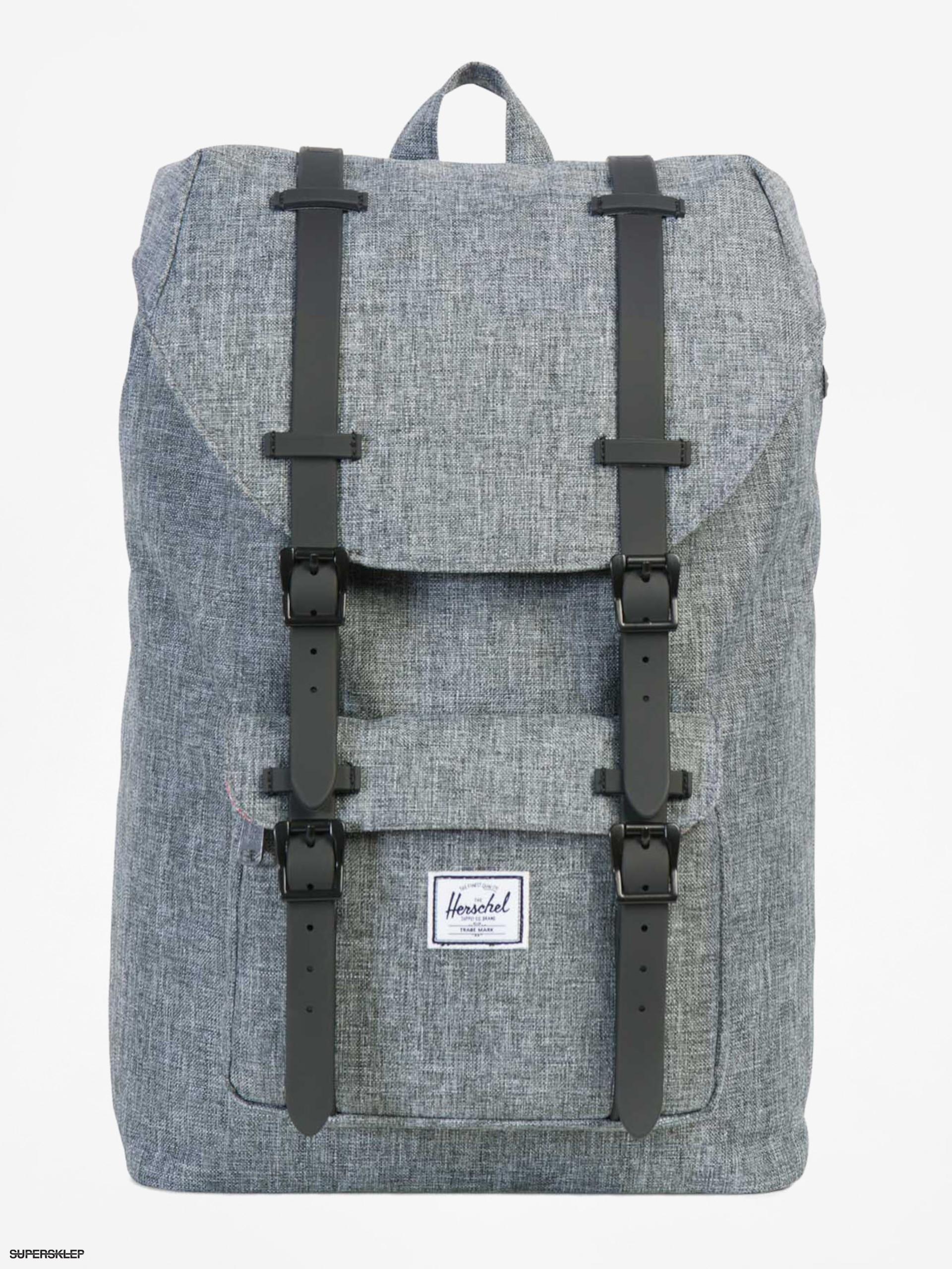 beb45eeedf02e Plecak Herschel Supply Co. Little America (raven crosshatch/black rubber)