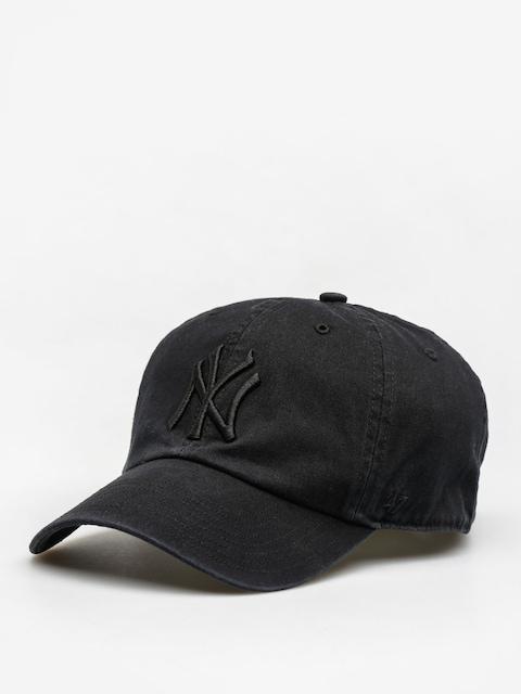 Czapka z daszkiem 47 Brand New York Yankees ZD (all black)