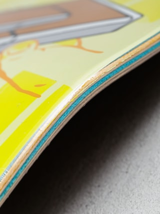 Deck Enjoi Amigo Pro R7 Thaynan (yellow)