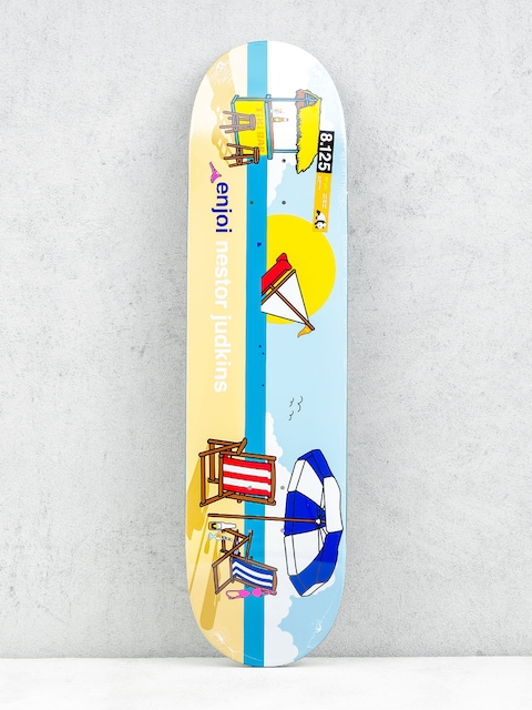 Deck Enjoi Sweet Home Pro R7 Judkins (blue/yellow)