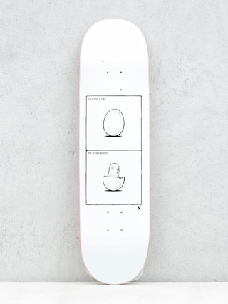 Deck Nervous Once (white/black)