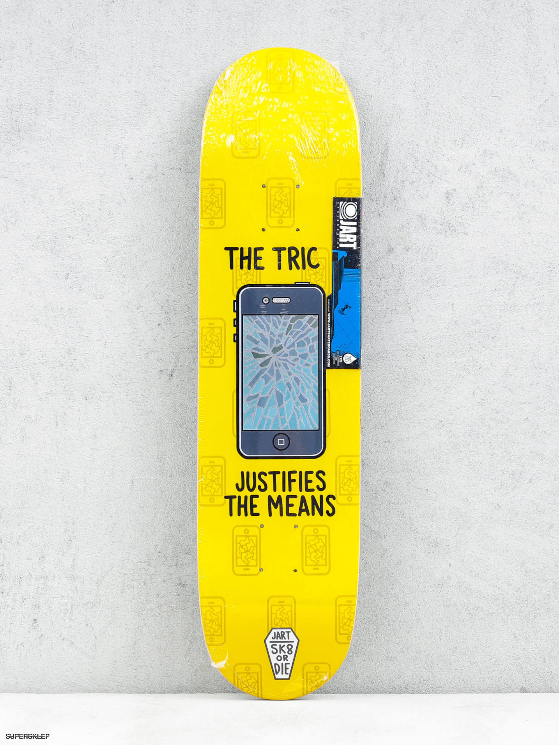 Deck Jart Sk8 Or Die (yellow)