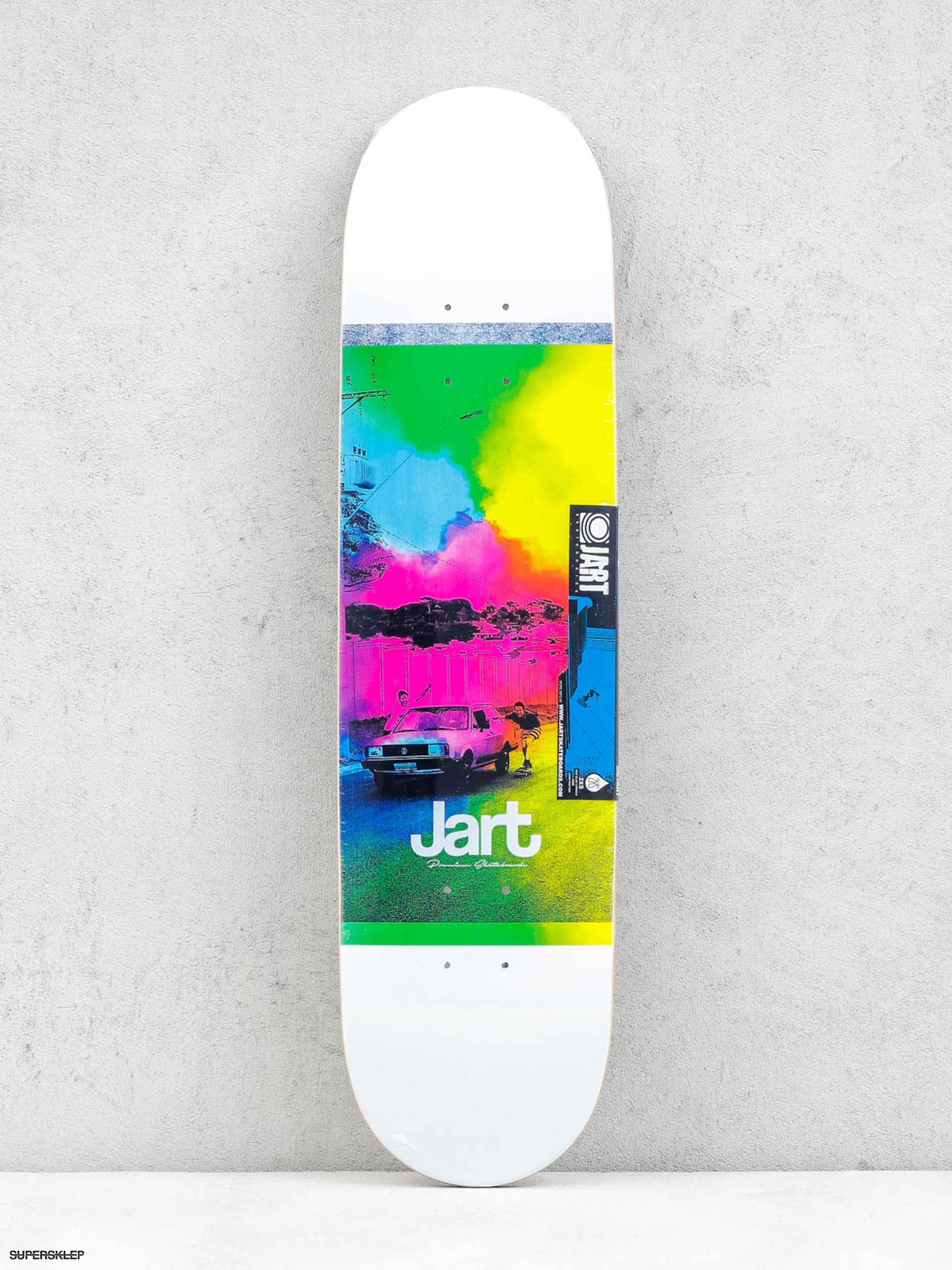 Deck Jart Painting (white/green/blue/pink)