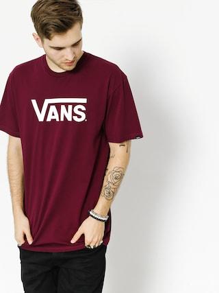 T-shirt Vans Classic (burgundy/white)