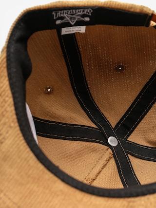Czapka z daszkiem Thrasher Magazine Logo Cord ZD (gold)