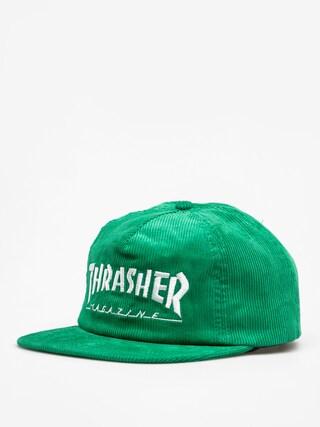 Czapka z daszkiem Thrasher Magazine Logo Cord ZD (green)
