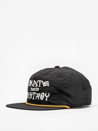 Czapka z daszkiem Thrasher Skate And Destroy Puff Ink ZD (black)