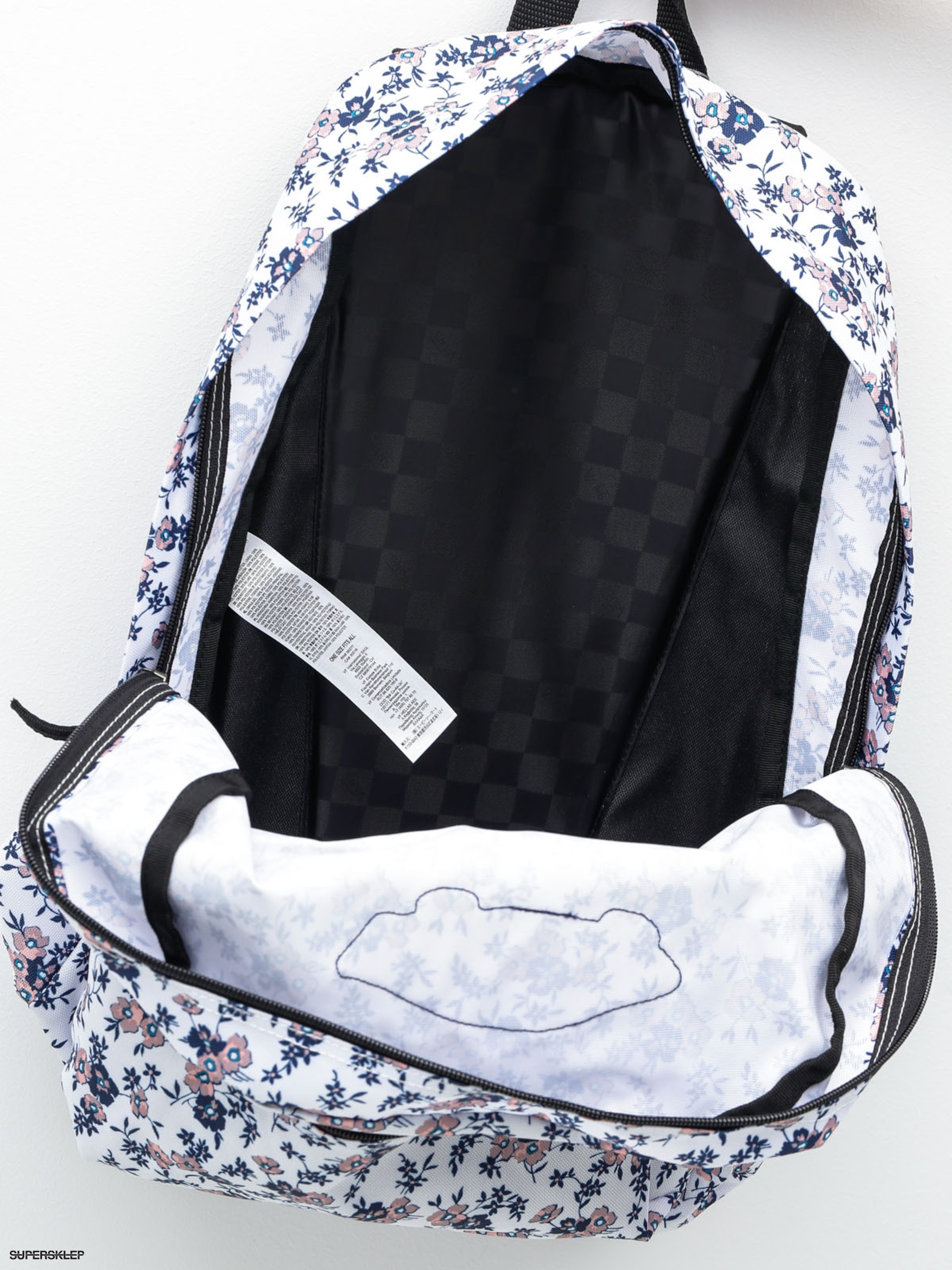 Plecak Vans Realm Backpack Wmn (whiteditsy)