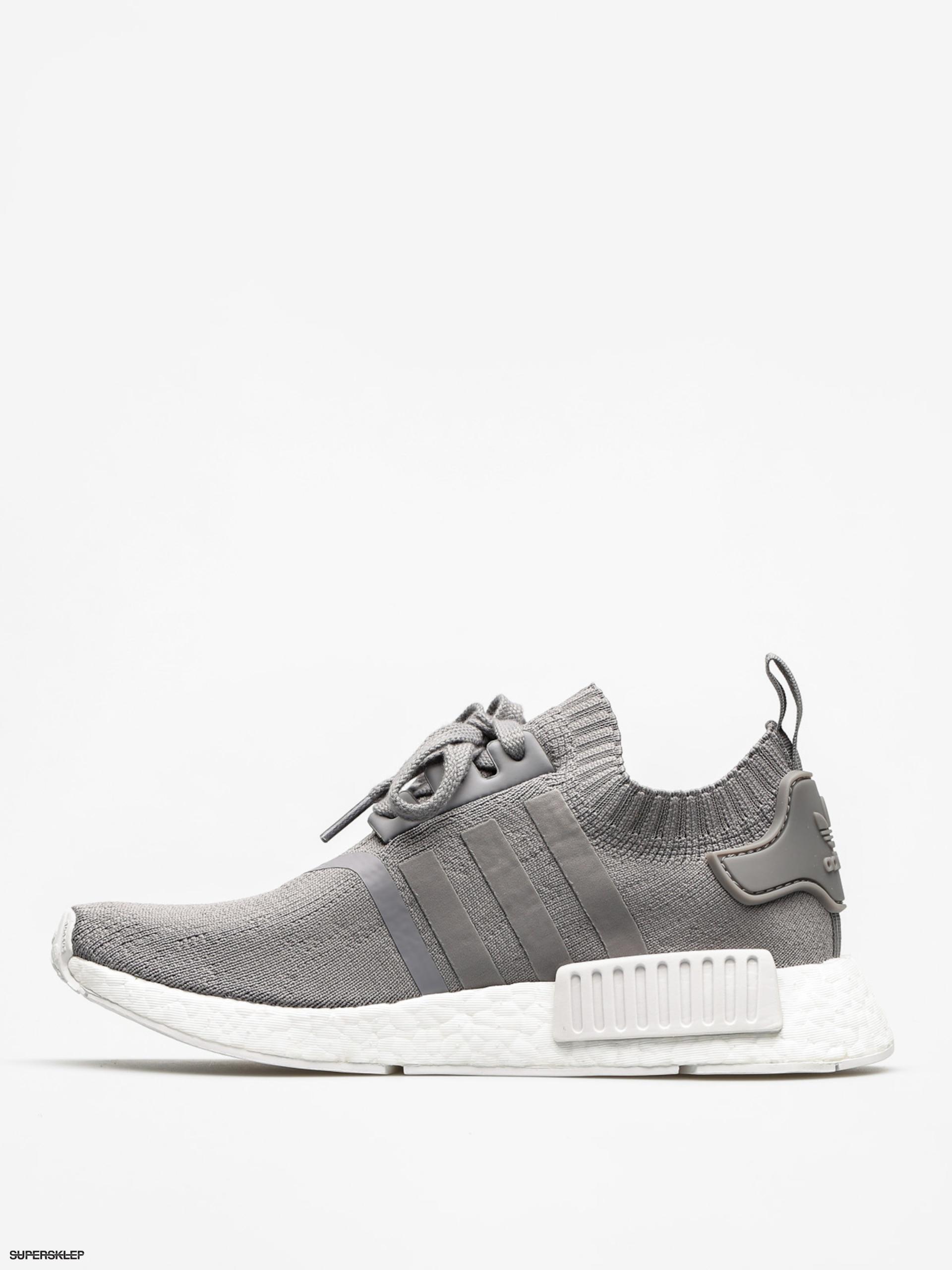 Buty adidas Nmd R1 Pk Wmn (grey three f17grey three f17ftwr white)