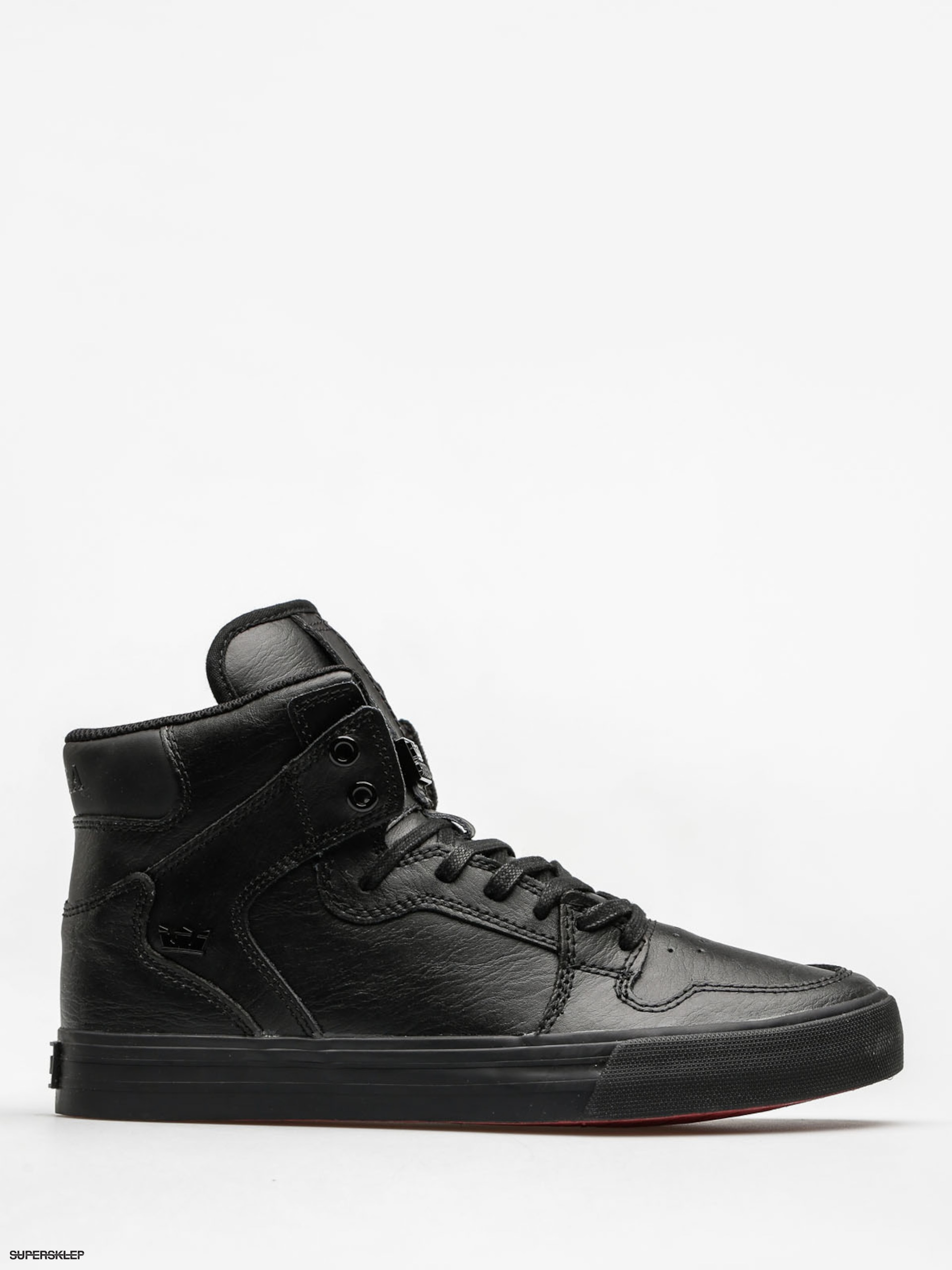 Buty Supra Vaider (black/black red)