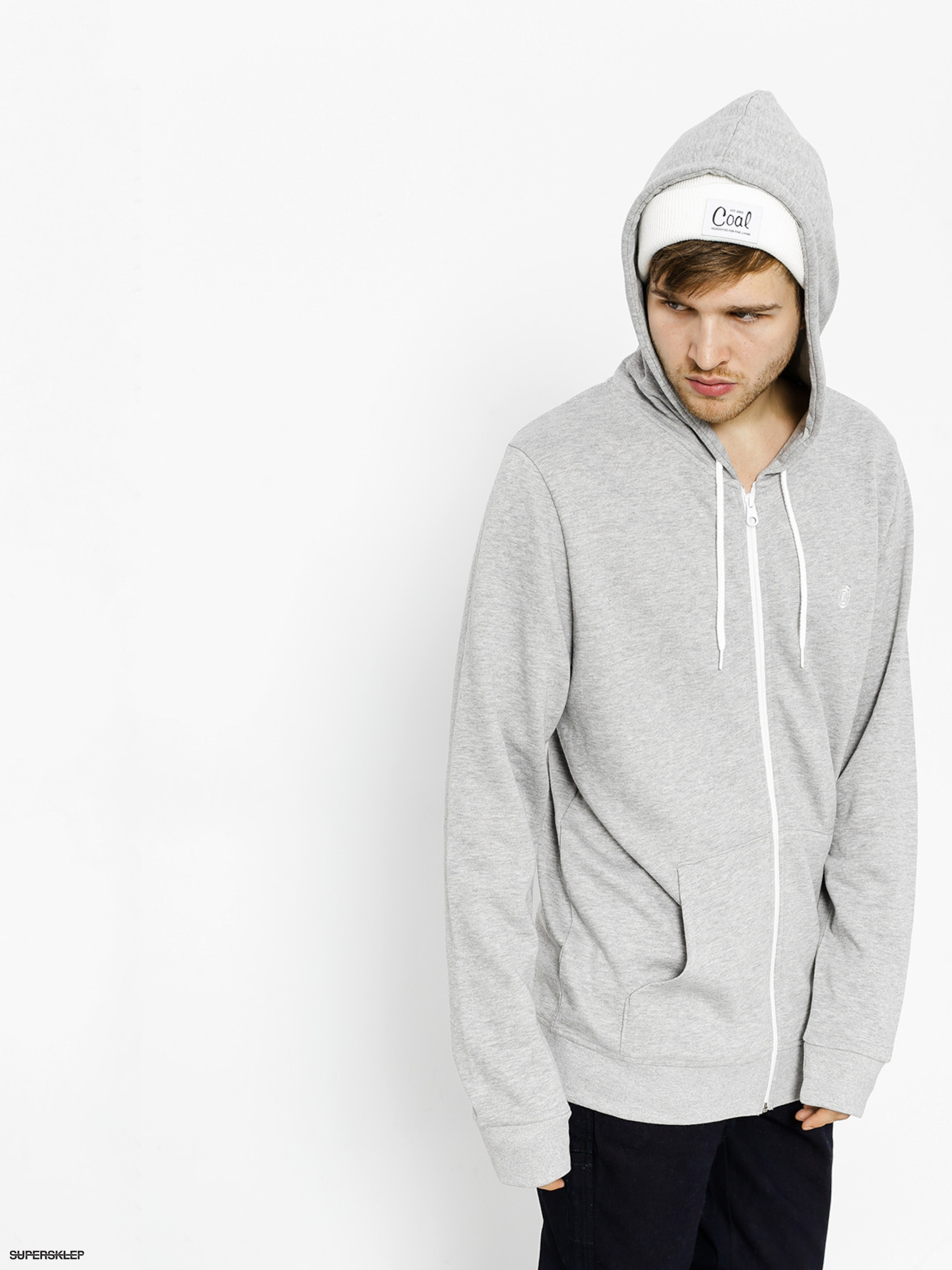 Bluza z kapturem Element Cornell ZHD (grey heather)