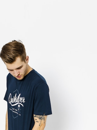 T-shirt Quiksilver Classic Sea Tales (navy blazer)