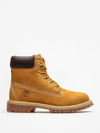 Buty Timberland 6 In Premium Jr (wheat nubuc yellow)