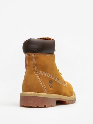 Dziecięce buty Timberland 6 In Premium (wheat nubuc yellow)