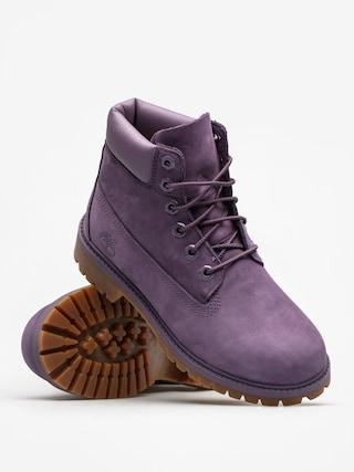 Buty dziecięce Timberland 6 In Premium Wp (medium purple nubuck)