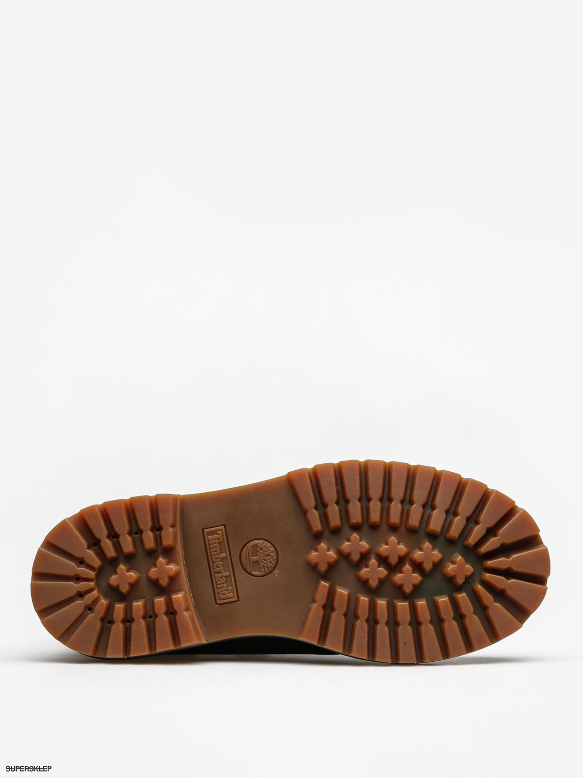 Buty dziecięce Timberland 6 In Premium Wp (black nubuck)
