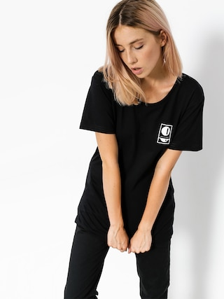 T-shirt Intruz Full Moon Wmn (black)