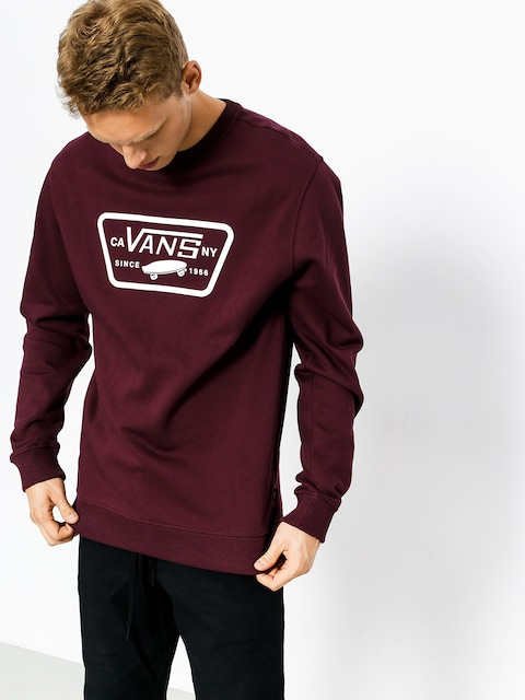 Bluza Vans Full Patch Crew (port/royale)