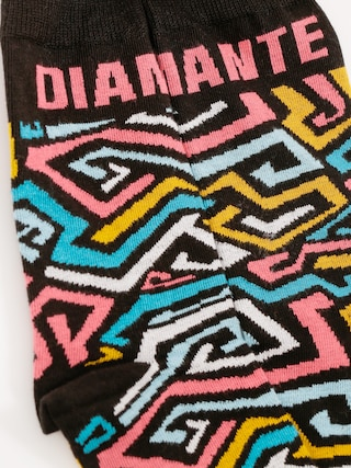Skarpetki Diamante Wear Zig Zag (black)