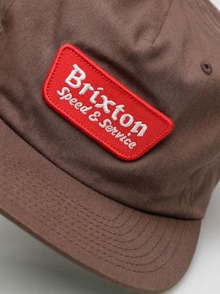 Czapka z daszkiem Brixton Compressor ZD (brown)
