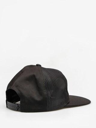 Czapka z daszkiem Brixton Kansas Mesh ZD (black)