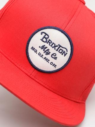 Czapka z daszkiem Brixton Wheeler Mesh ZD (red)