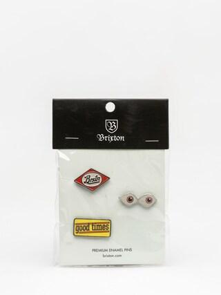Przypinki Brixton Times Pin Pack (multi)