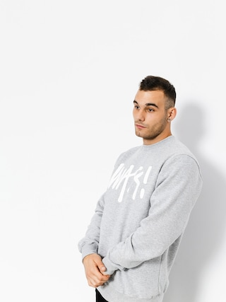 Bluza MassDnm Signature (light heather grey)