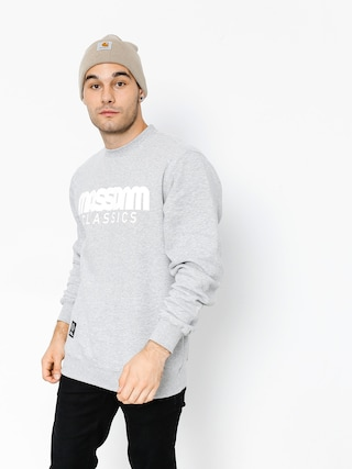 Bluza MassDnm Classics (light heather grey)
